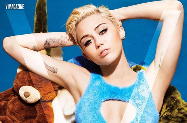 Miley Cyrus, V Magazine 2014.