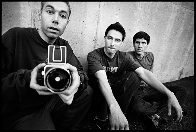 Beastie Boys photographed in 1998.