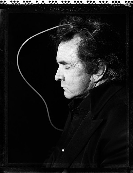 Johnny Cash photographed in 1994.