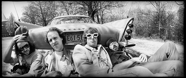 Phish photographed in 1995.