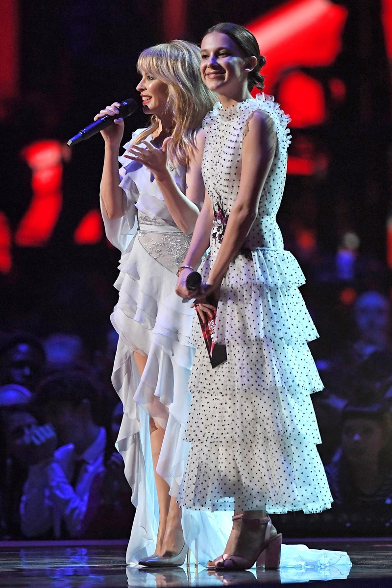 Millie Bobby Brown & Kylie Minogue