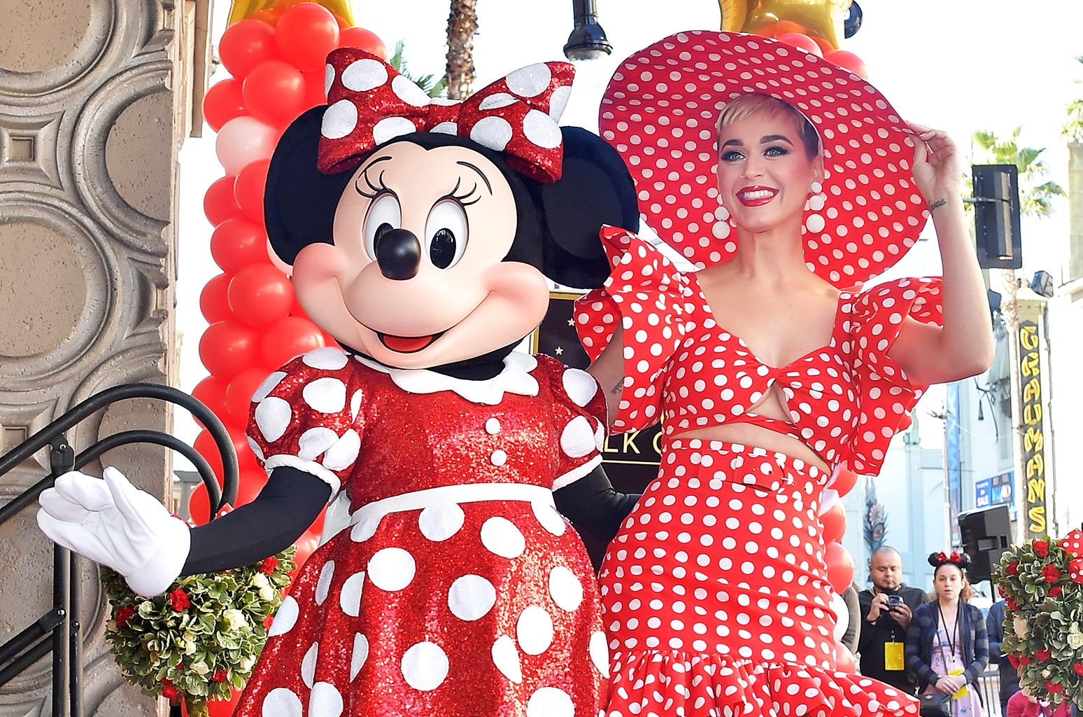 Minnie Mouse Katy Perry