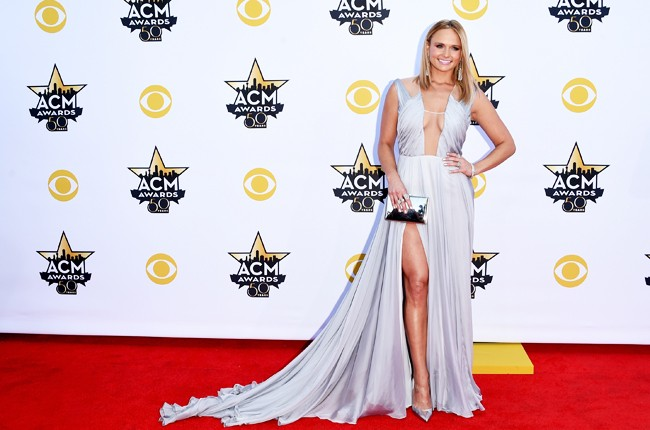 miranda lambert acm red carpet 2015