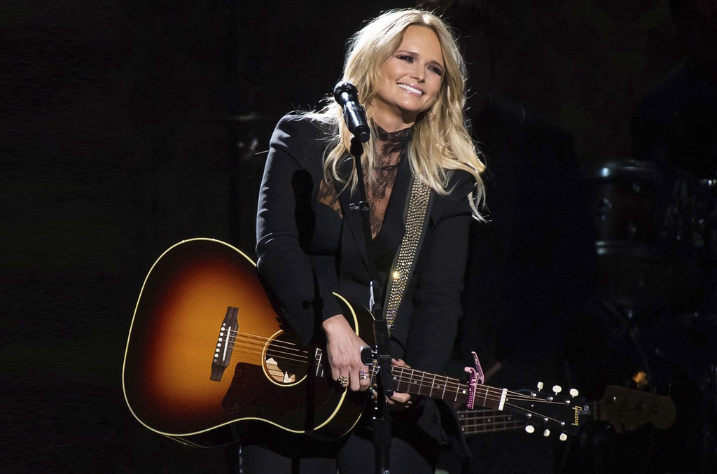Miranda Lambert performs at the 50th annual CMA Awards