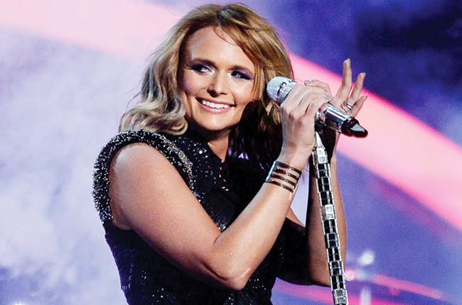 """Miranda Lambert performs """"Little Red Wagon"""" onstage during The 57th Annual GRAMMY Awards"""