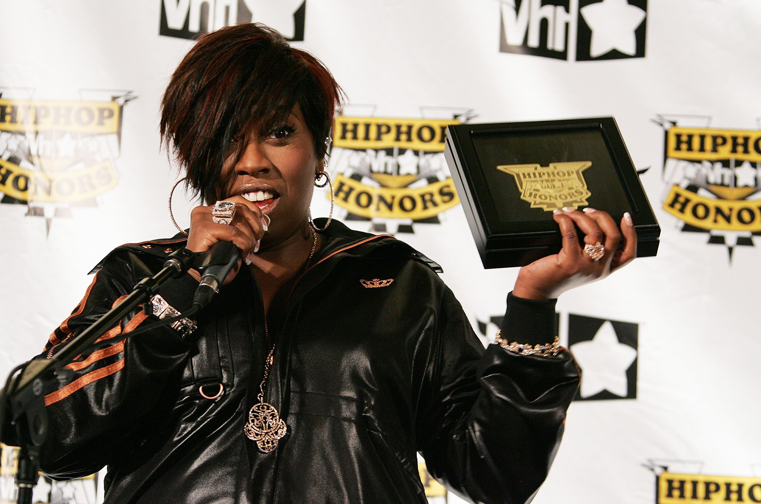 Missy Elliot at the 4th Annual VH1 Hip Hop Honors