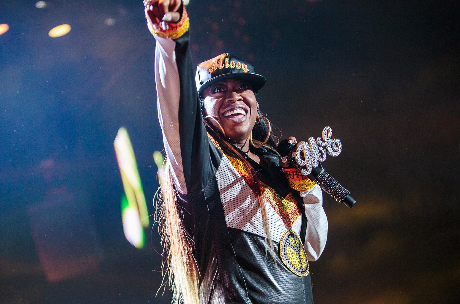 Missy Elliott performs at the 2015 Essence Music Festival on July 4, 2015 in New Orleans.