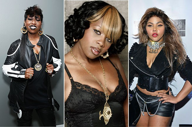 Missy Elliott, Remy Ma, and Lil' Kim
