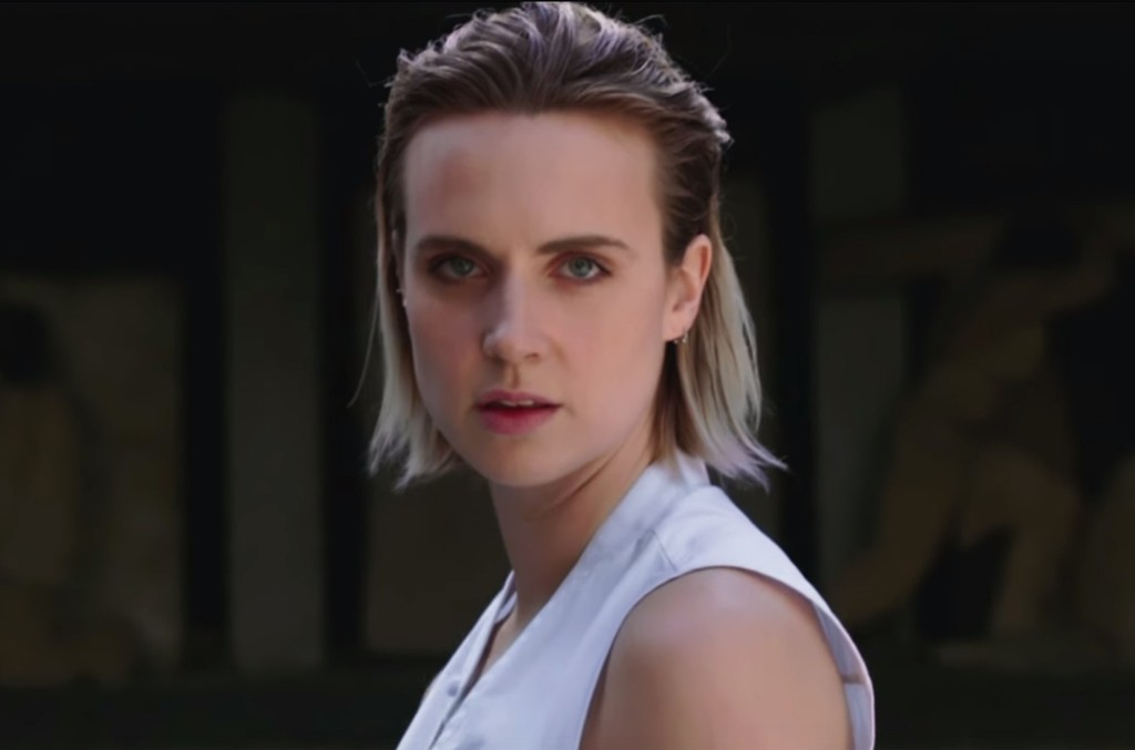 "MØ in the video for ""Nights With You"""