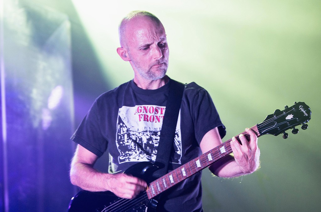 Moby performs during Circle V Festival at The Fonda Theatre on Oct. 23, 2016 in Los Angeles.