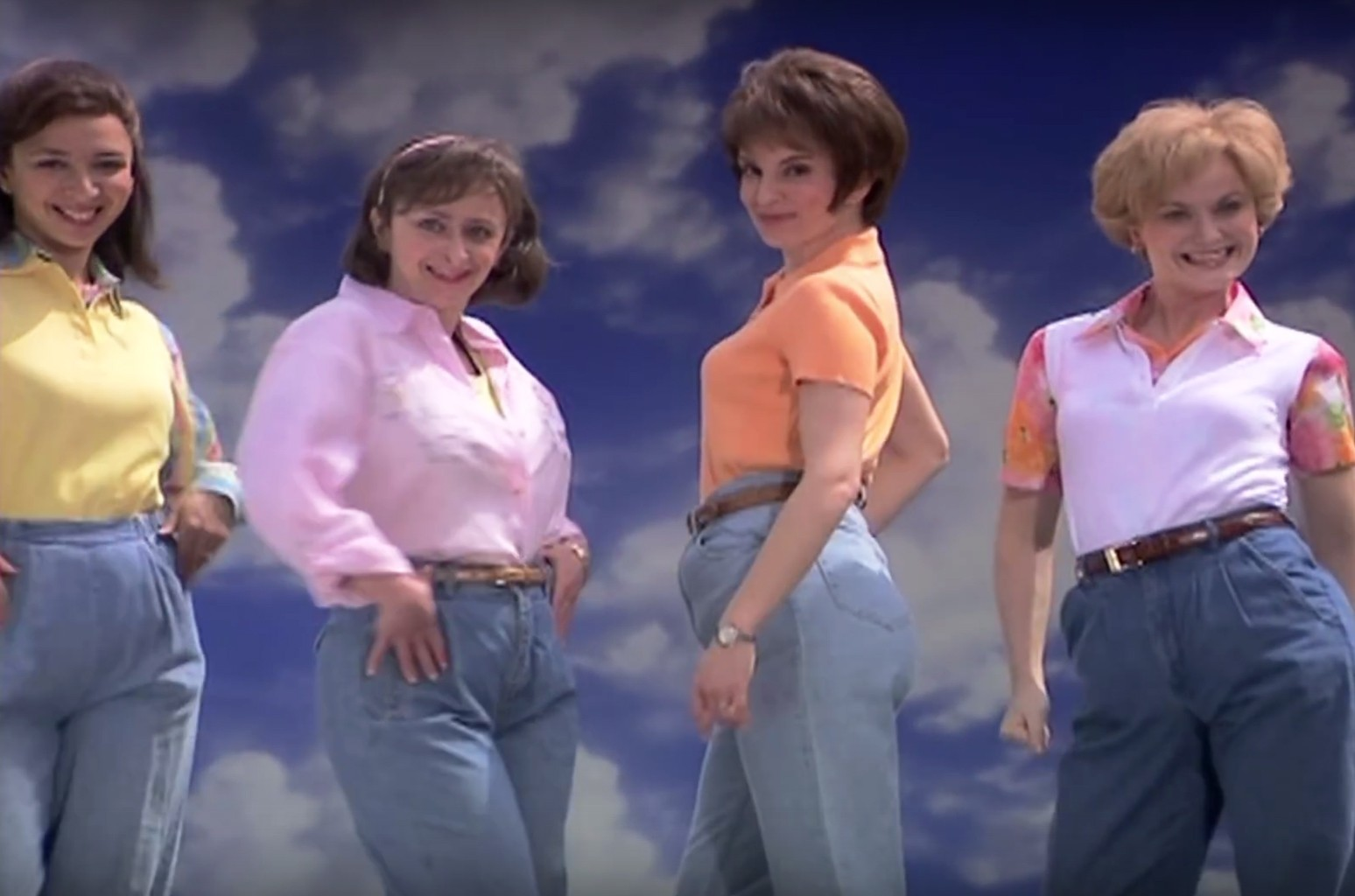 """Mom Jeans"" sketch on Saturday Night Live."