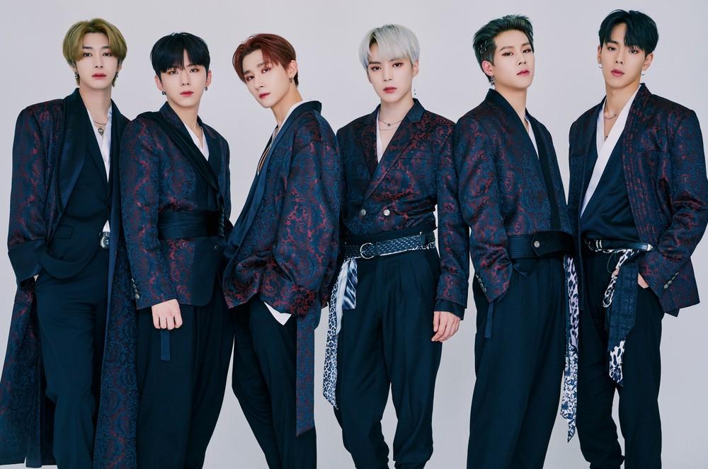 Monsta X: Hyungwon, Kihyun, I.M, Minhyuk, Joohoney, Shownu