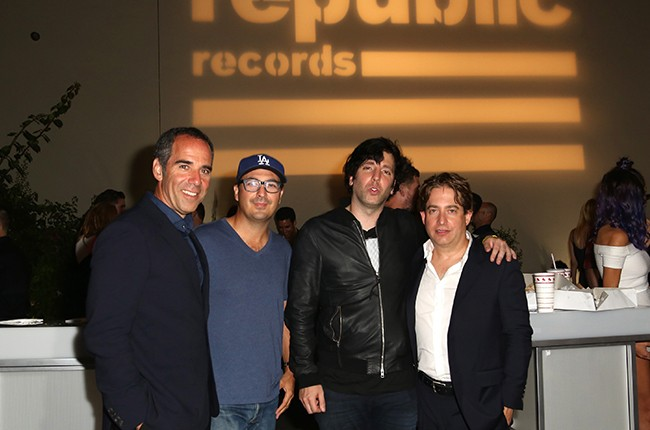 Monte Lipman, John Amato, Ron Perry Charlie  Walk 2015