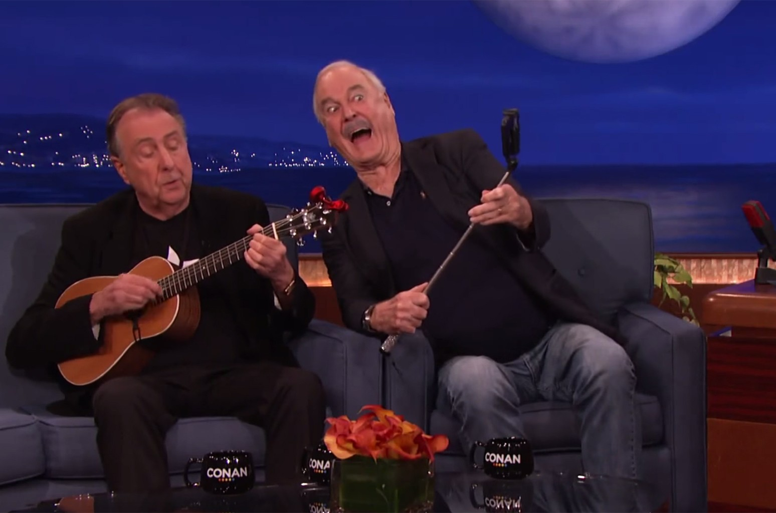 """John Cleese and Eric Idle perform """"F*** Selfies"""""""