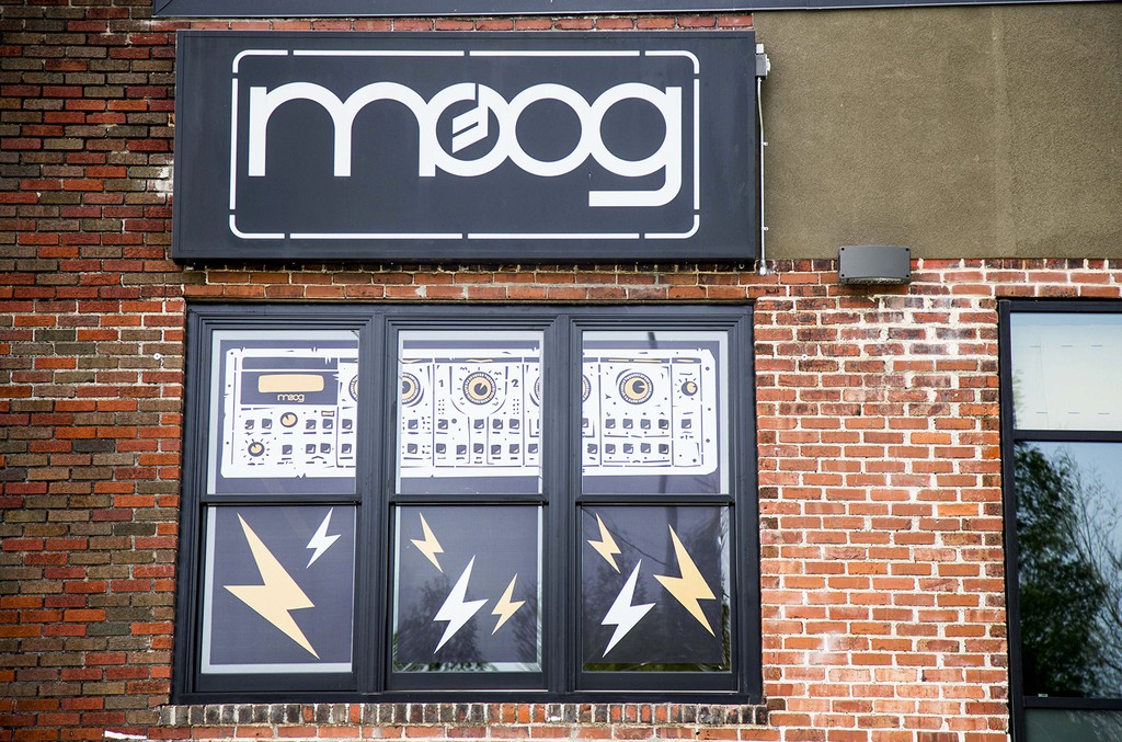 A view of the Moog factory during day 5 of Moogfest 2014 on April 27, 2014 in Asheville, N.C.