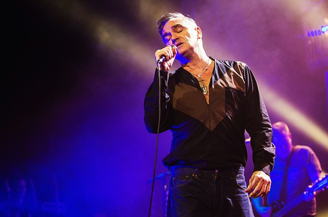 Morrissey performs at The Moore Theater on March 6, 2013 in Seattle, Washington