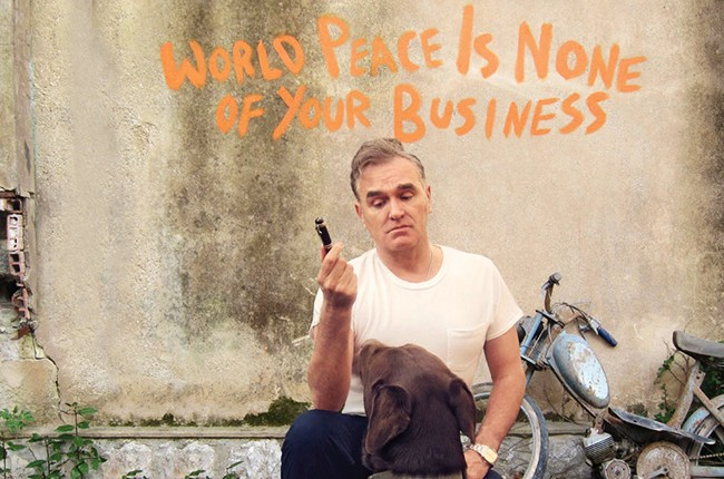"Morrissey's ""World Peace Is None of Your Business"""