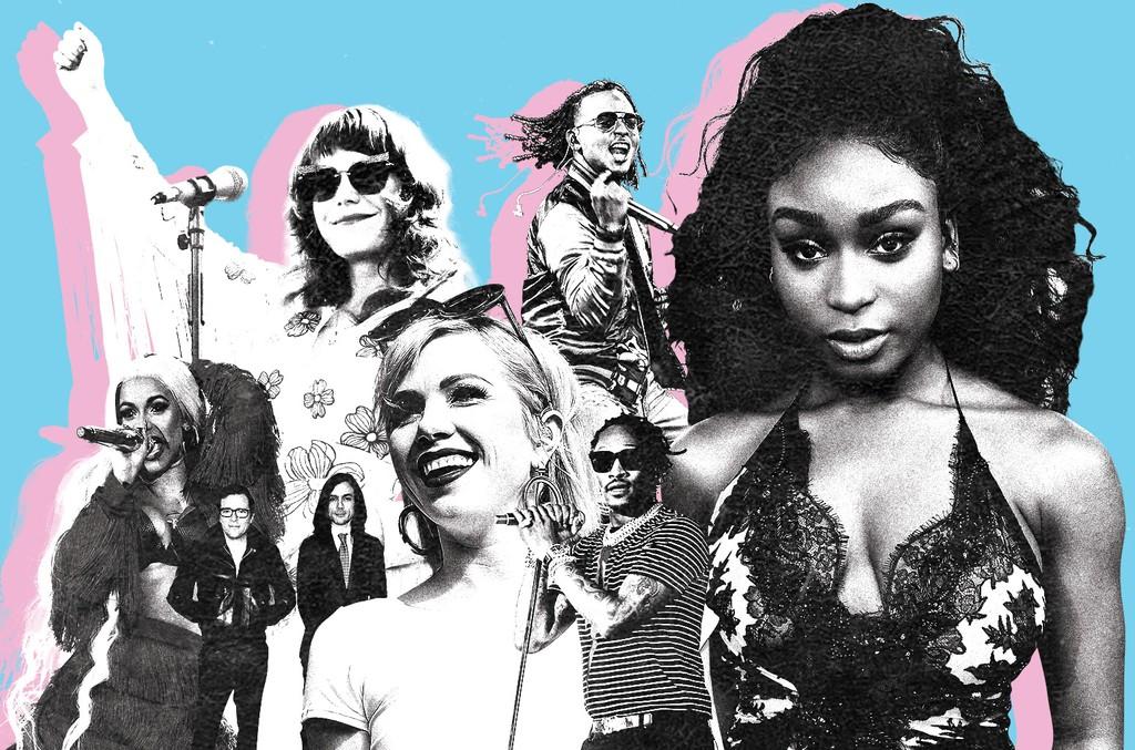 Carly Rae Jepsen, Jenny Lewis, Cardi B, Normani, Future, Rivers Cuomo and Brian Bell & Ozuna