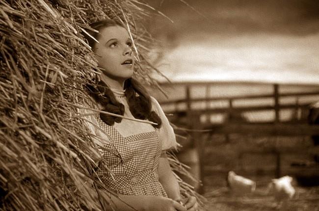 "Judy Garland, ""Over The Rainbow"""