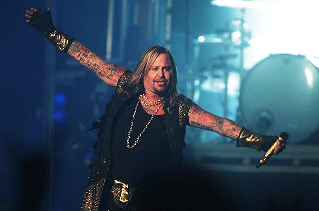 "Motley Crue's Vince Neil performs in ""The Final Tour"""