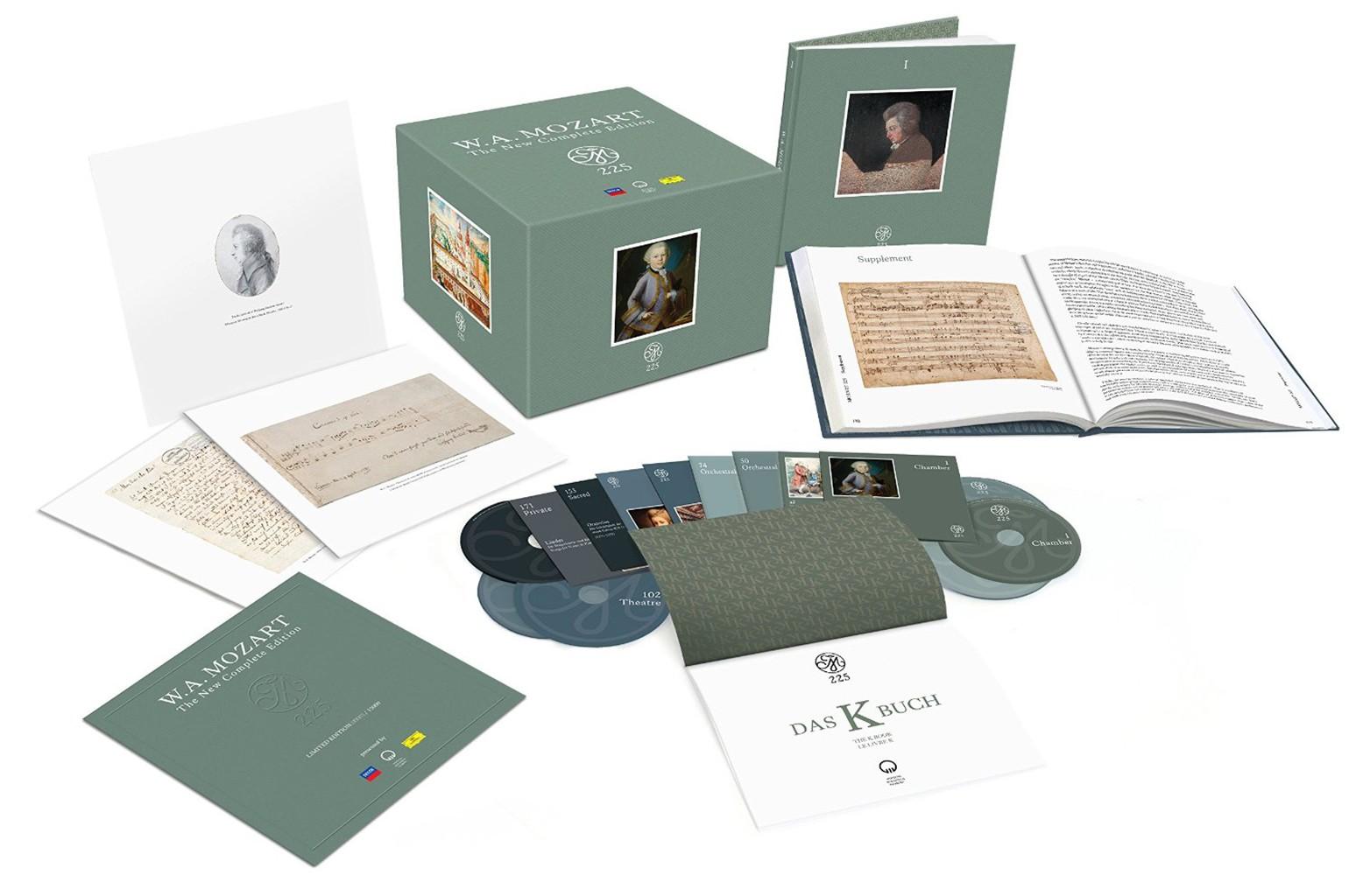 Mozart 225 Box Set
