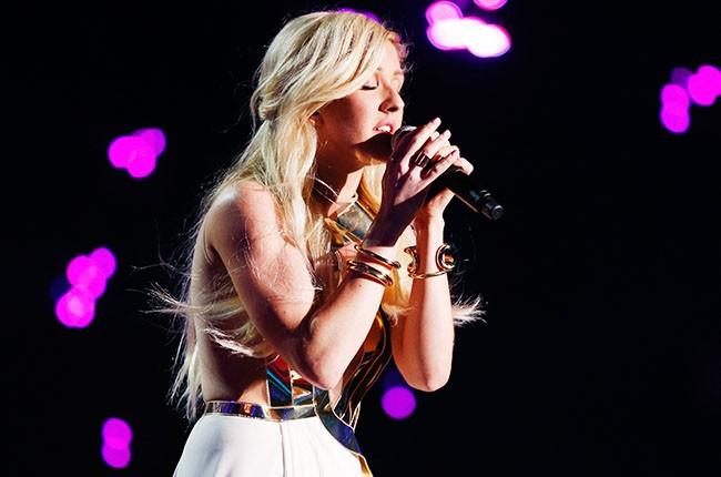 Ellie Goulding at the 2014 MTV Movie Awards