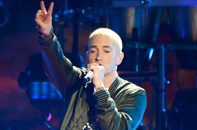 Eminem at the 2014 MTV Movie Awards