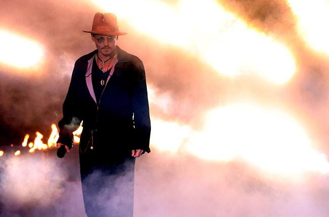 Johnny Depp at the 2014 MTV Movie Awards