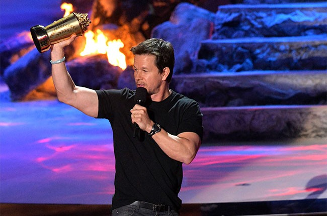 Mark Wahlberg at the 2014 MTV Movie Awards