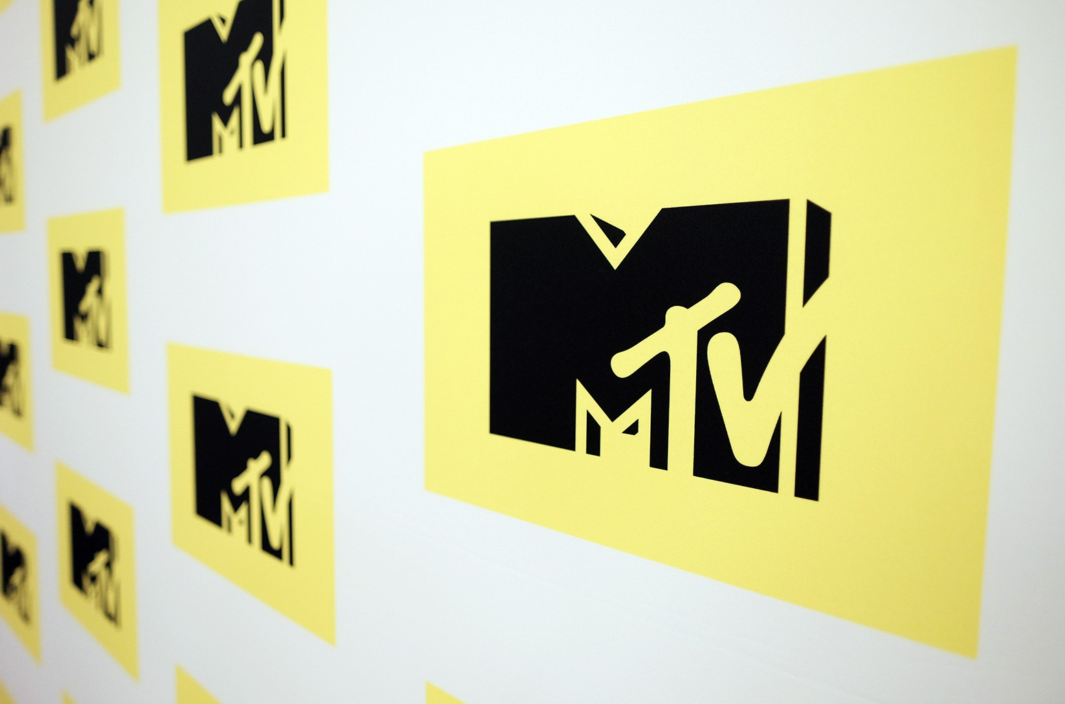 The MTV logo in 2016