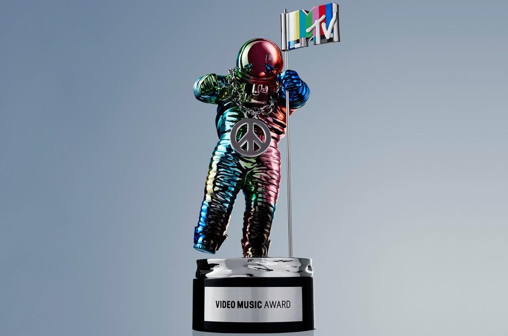 The MTV Video Music Award MoonMan.