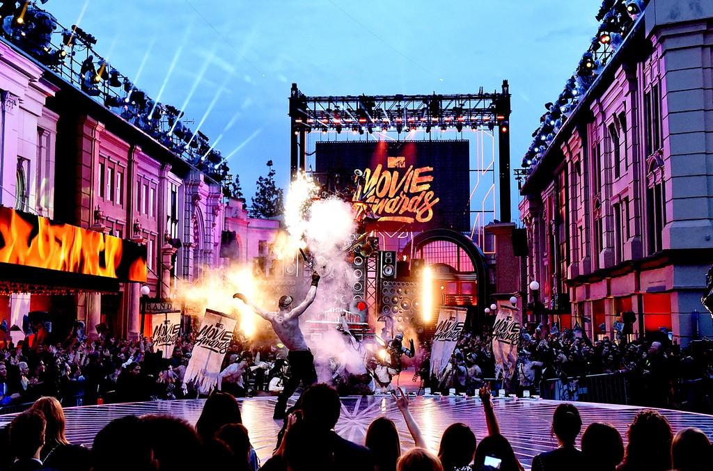 A general view of the 2016 MTV Movie Awards at Warner Bros. Studios on April 9, 2016 in Burbank, Calif.