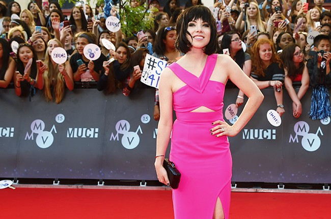 2015 Much Music Video Awards; carly rae jepsen red carpet
