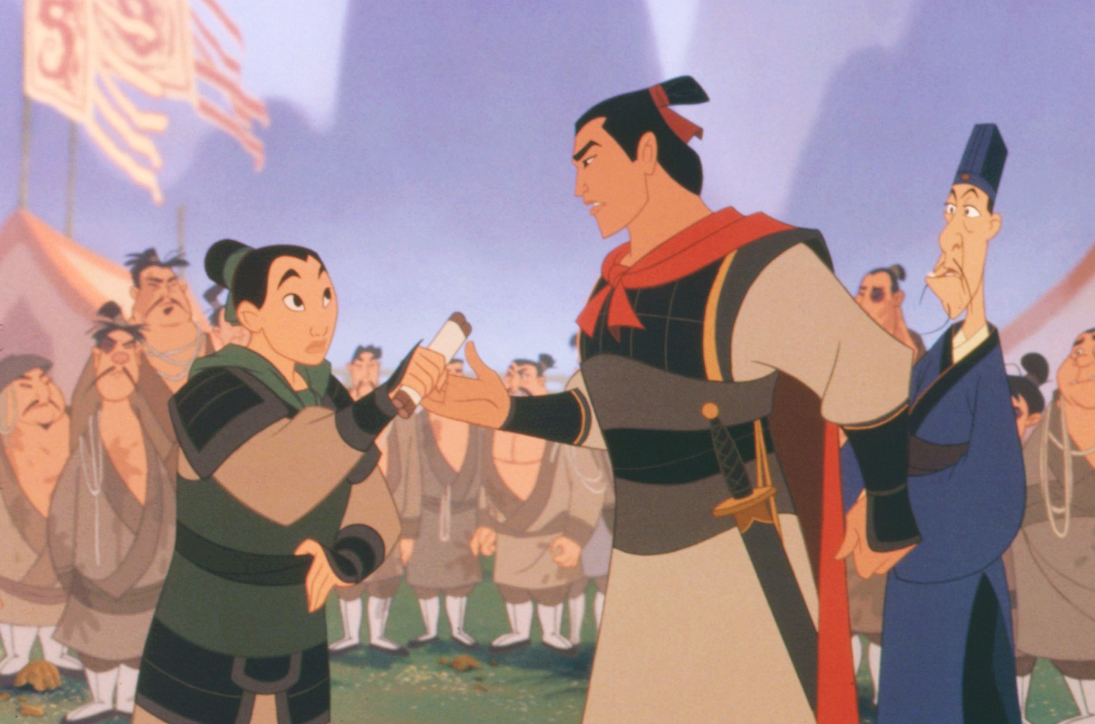 Disney Casts Mulan Love Interest Billboard