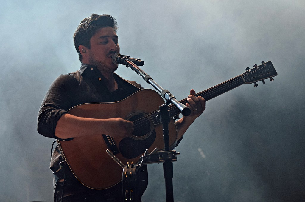 Mumford & Sons performs at Boston Calling - Day 2 on May 27, 2017.