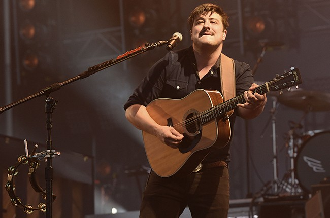 Mumford and Sons Outside Lands 2015