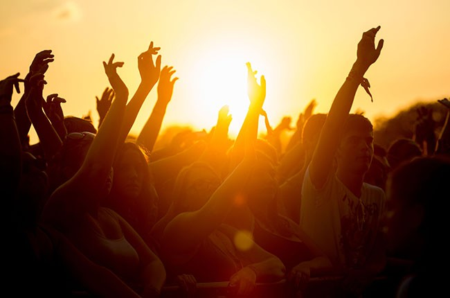 Music Festival Audience