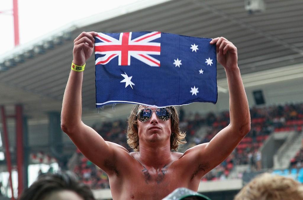 Australian flag music 2016