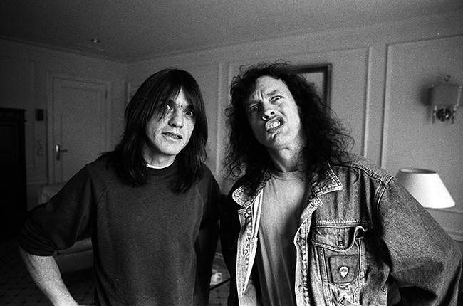 Angus Young and Malcolm Young