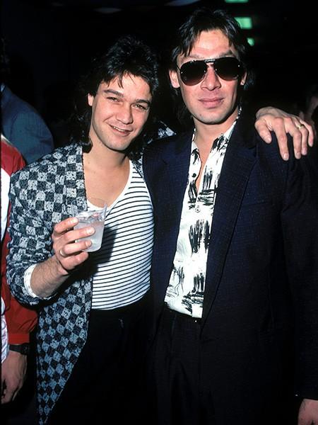 Eddie Van Halen & Alex Van Halen