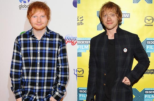 Ed Sheeran; Rupert Grint