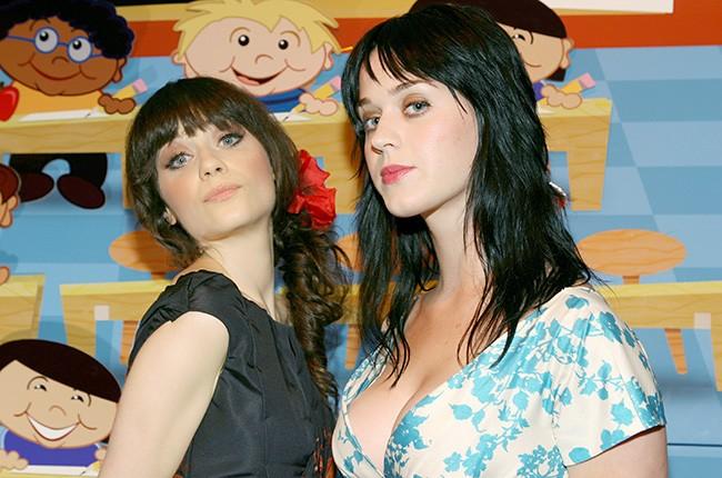 Zooey Deschanel; Katy Perry