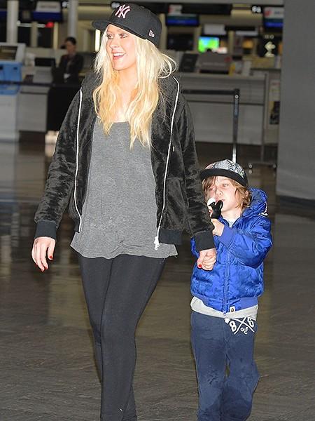 Christina Aguilera and Max Liron Bratman