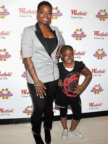 Fantasia Barrino and daughter Zion Barrino