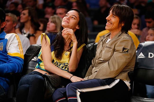 Anthony Kiedis and Wanessa Milhomem