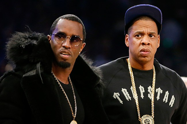 Sean Puffy Combs and Jay Z