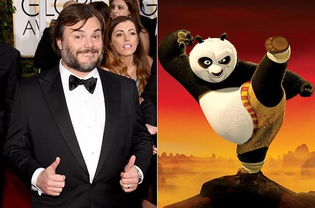 Jack Black in Kung Fu Panda