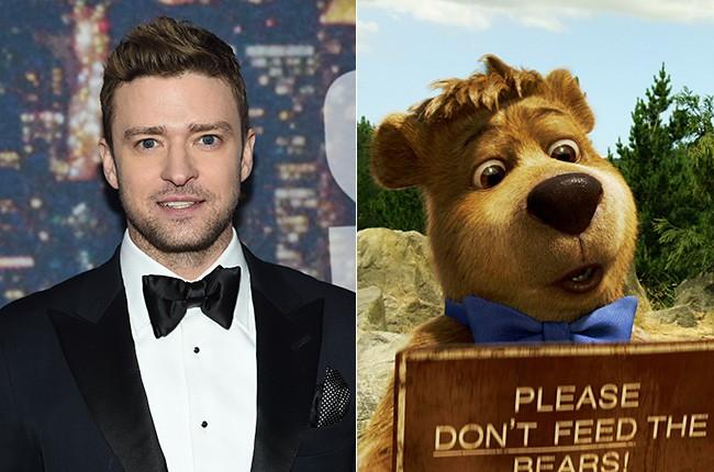 Justin Timberlake in Yogi Bear