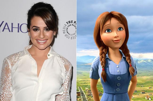 Lea Michele in Legends of Oz