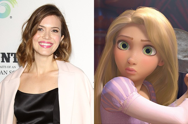 Mandy Moore in Tangled